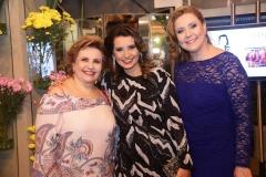Ila Bezerra, Marcia Travessoni  e Andréa Delfino