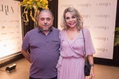 Jose Armando Aguiar e Lilian Porto
