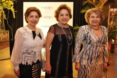 Lucia Pierre, Vitoria Philomeno e Rochelle Bonorange