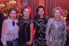 Lúcia Rodrigues, Vitoria Filomeno, Marcia Travessoni e Rochelle Bonorandi