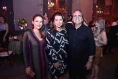 Manoela Barcelar , Marcia Travessoni  e Ricardo Barcelar