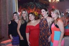 Manu Romcy, Célia Magalhães, Gisela Vieira, Deborah Nibon Tatiana Luna