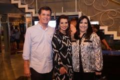 Marcelo Távora, Marcia Travessoni  e Samia Távora