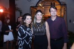 Marcia Travessoni, Micheline e Edilson Pinheiro