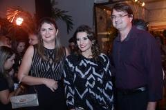 Micheline Pinheiro , Marcia Travessoni e Edilson Pinheiro