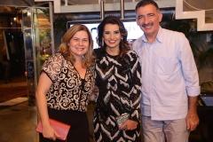Natércia Rios , Marcia Travessoni e Artur Bruno