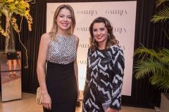 Onélia Leite e Marcia Travessoni