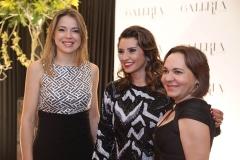 Onélia Santana , Marcia Travessoni e Regina Leitão