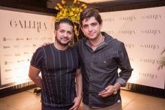 Régis Vieira e Tony Caminha