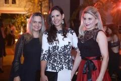 Sandra Cruz, Michele Guimarães e Poliana Almeida