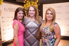Susane Farias, Luiziane Cavalcante e Leticia Studart