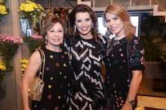 Tani Albuquerque , Marcia Travessoni e Maira Silva