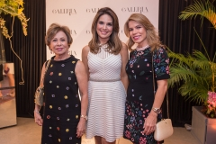 Tane Albuquerque, Eveline Fujita e Maira Silva