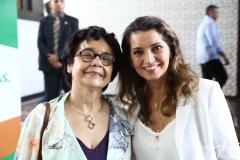 Dodora Guimarães e Márcia Travessoni