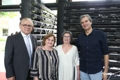 Inocêncio Uchôa, Angela Uchoa, Diana Esmeraldo e Tiago Santana