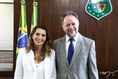 Márcia Travessoni e Acrisio Sena