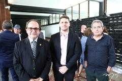 Wantan Laércio, Victor Perlingeiro e Ari Josino