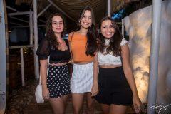 Carolina Gomes, Lívia Rodrigues e Bruna Gomes