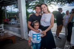 Cauê Chaves, Letícia Varela e Daniela Rolim