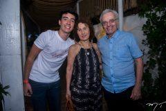 Davi, Luiza e Pedro Serpa
