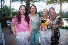 Fabiola Rocha, Veronica Silva, Elisa Aguiar e Cristane Aciole