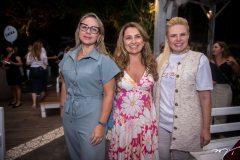 Georgia Filomeno, Valeria Feitosa e Sandra Mourão