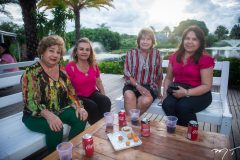 Lígia Cavalcante, Hortencia Pinto, Bel Maia e Fabiola Pena