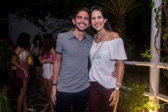 Rafael Barreira e Mariana Araújo