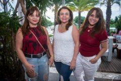 Tereza Mendes, Iolnada Castro e Fátima Castro