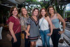 Vládia Sampaio, Ana Tereza Nobrega, Meire Franco, Ivana Maia e Elida Escóssia