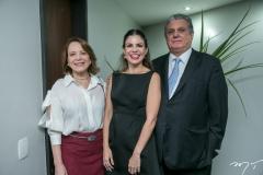 Angela Cunha, Carol Bezerra e Cleber Cunha