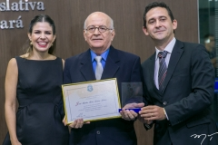 Carol Bezerra, José Mont'Alverne e Fabrício César
