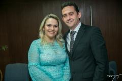 Ilana Santiago e Fabrício César