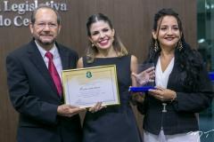 João França, Carol Bezerra e Joana Angélica Maciel