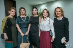 Letícia Pequeno, Socorro Queiroz, Carol Bezerra, Angela Cunha e Márcia Dias