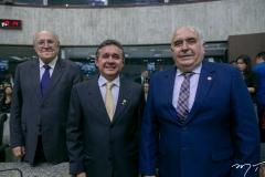 Luis Marques, José Porto e Aramicy Pinto