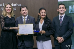 Onélia Santana, Mauro Filho, Joana Angelica Maciel e Fabricio Cesar