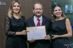 Onélia Santana, João França Neto e Carol Bezerra