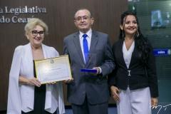 Socorro França, Raimundo Marcilio e Joana Angélica Maciel