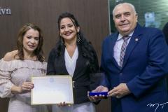 Tânia Coelho, Joana Angélica Maciel e Aramicy Pinto