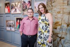 Fran Dias e Mirele Ferrer
