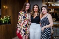 Glaucia Andrade, Márcia Travessoni e Dalva Arraiz