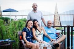 Cris, Fernando, Lara e Fernando Travessoni