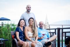 Cris, Fernando, Talita e Fernando Travessoni