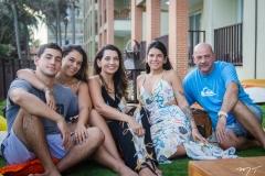 Fernandinho, Talita, Márcia, Lara e Fernando Travessoni
