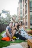 Fernandinho, Talita, Márcia e Lara Travessoni