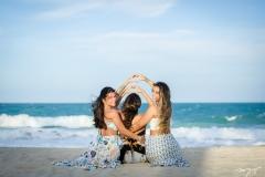 Lara, Márcia e Talita Travessoni