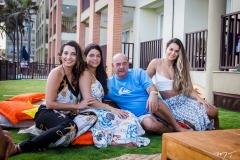Márcia, Lara, Fernando e Talita Travessoni