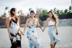 Márcia, Lara e Talita Travessoni
