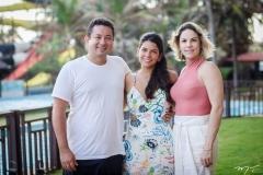 Miltinho, Lara e Aline Rios